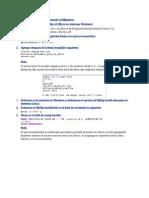Cómo copiar una base de datos en un sistema gestor de bases de datos
