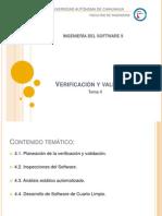 IS2-T4-VERIFICACIÓN Y VALIDACIÓN