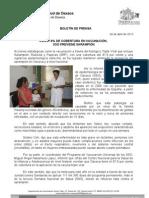 04/04/13 Germán Tenorio Vasconcelos CON 97.9% DE COBERTURA EN VACUNACIÓN, SSO PREVIENE SARAMPIÓN