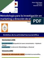 La investigación cientifica - Saravia Sanchez