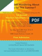 Western Albemarle Camp Fair