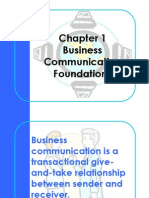 Chapter 01 business communication