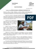 10/04/13 Germán Tenorio Vasconcelos TEMBLOR MODERADO EN MANOS, SINÓNIMO DE PARKINSON