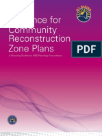 Guidance for Community Reconstruction Zones