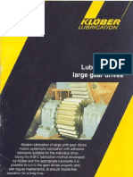 Lubrication of Large Gear Drives-Kluber
