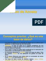 Curso de Access ParteI