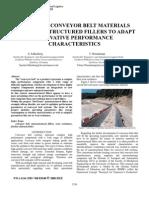 Doping of Conveyor Belt Materials