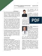 Im Newsletter Sept 2007