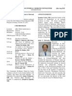 Newsletter Aug 2011
