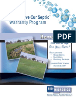 S.O.S.-Save Our Septic® Program Brochure