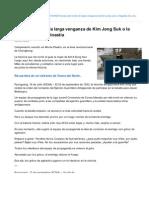Corea Del Norte La Larga Venganza de Kim Jong Suk o La Tragedia de Una Dinasta