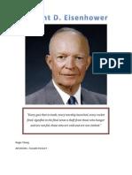 Dwight Eisenhower APUSH