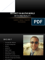 Security in an IPv6 World