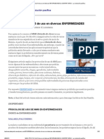 MMS, PROTOCOLOS de uso en diversas ENFERMEDADES _ DESPERTARES - La revolución pacífica
