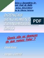 Doenças Sexualmente Transmissíveis(DST)