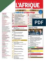 Sommaire NewAfrican Mai - Juin 2013 N°32