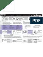 Tipos y Tipificadores en La Arq de Lecorbusier