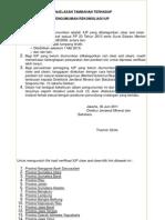 IND-Pengumuman Rekonsiliasi IUP (30 Juni 2011)