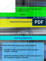 ICTL - Overview of computer system