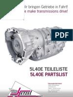 Dis-/assembly instruction: TCU (mechatronic) DSG 7 DQ200 (0AM)
