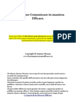 5 Segreti Per Comunicare in Maniera Efficace.
