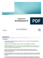 Ch6 Enrutamiento IP