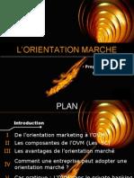 3- Orientation Marche