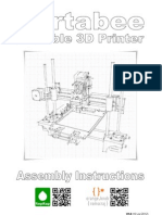 Portabee 3D Assembly Instructions