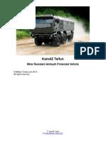 KamAZ Taifun Mine Resistant Ambush Protected Vehicle | Military-Today.com