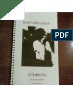 ROBERT LEÓN HELMAN. EL ÚLTIMO DÍA