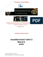 AccessData Forensic Toolkit 4.2 Release Notes.es