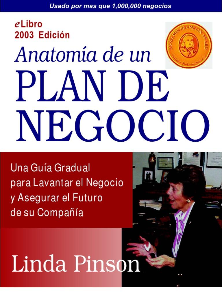ANATOMY OF A BUSINESS PLAN LINDA PINSON PDF