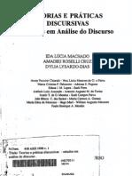 Teorias e Práticas Discursivas - Estudos em Análise do Discurso