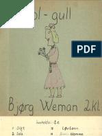 Sol-gull - Bjørg Weman 2. Kl_komp