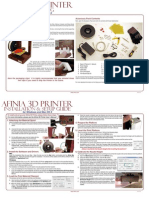 Afinia 3D Printer Quick Start Guide11