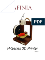 Afinia 3D Printer Users Manual v1 4