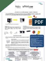 Imprimante 3d uPrint CADvision
