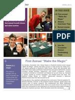 Camp Kesem at Stanford 2013 Legacy Newsletter