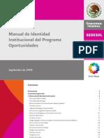 Manual Identidad Institucional Oportunidades 2008red (1)