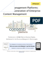 ECM Platforms - Executive Summary
