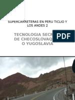 Supercarreteras Ticlio Peru 2