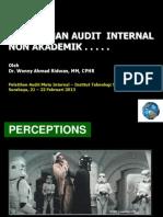 Pemahaman Audit Mutu Internal