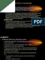 VALOR ENERGÉTICO DE LOS ALIMENTOS