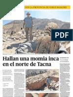 102689750 Hallan Una Momia Inca en El Norte de Tacna