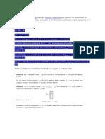 Transformaciones Lineales y Vectores y Valores Propios