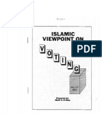 Islamic Viewpoint on Voting