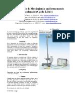 Informe 4 Fisica General