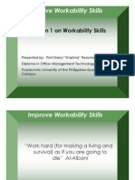 Lesson 1 Workability Skills
