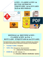 Introducción al Riesgo Químico