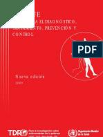 Guías para el dx, tto, prevención y control. (Dra. Vélez)